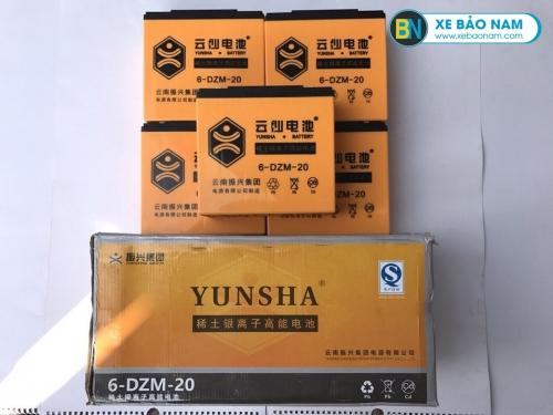 Ắc quy xe máy điện Yunsha 48V - 20Ah
