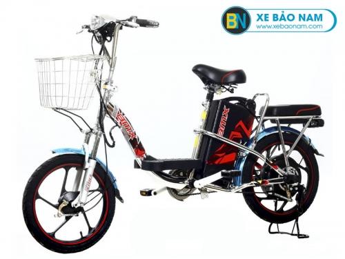 Xe đạp điện BMX Inox 18 inch Plus