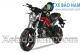 Xe máy Ducati Monster Mini 110 màu đen