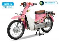 Xe Cub 81 Halim màu hồng