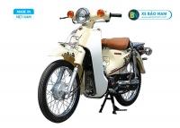 Xe Cub 81 Indo màu vàng kem