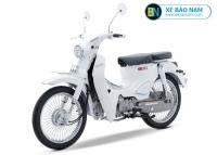 Xe máy Cub New Classic 50cc màu trắng