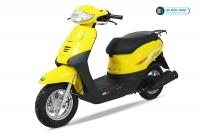 Xe ga 50cc Tact Màu Vàng