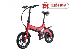Xe điện gấp Nakxus 10 inch Mới nhất màu đỏ