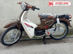 Xe Cub 50CC New Việt Thái 2020 màu nâu