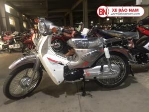 Xe Cub 50CC New Việt Thái 2020 màu xám