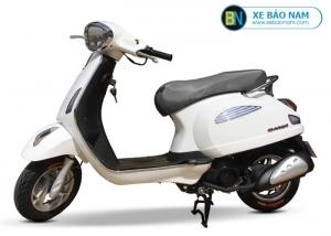 Xe ga 50cc Roma SE Dk bike màu trắng yên đen