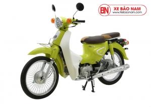 Xe máy Cub Classic 50cc màu xanh nõn chuối