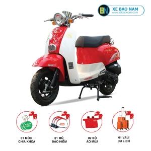 Xe ga 50cc Crea 2018 Màu Đỏ