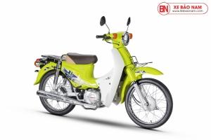 Xe Cub 50cc Dealim Rc màu xanh lá mạ