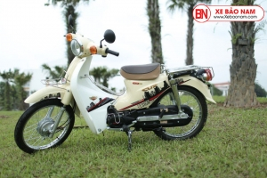 Xe máy 50cc Cub 81 Victoria màu Kem