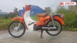 Xe máy 50cc Cub 81 Victoria màu Cam