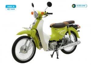 Xe cub New 50 màu xanh