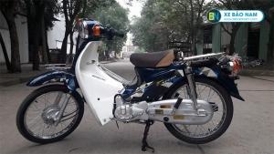 Xe Cub 50cc Espero màu xanh đậm