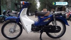 Xe Cub 50cc Espero màu xanh nước biển