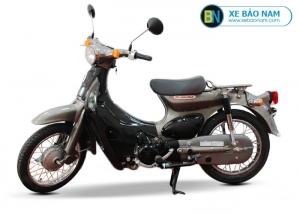 Xe Cub 50cc Honda little màu xám bạc
