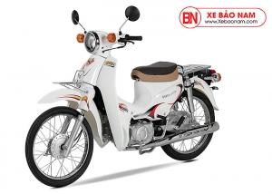 Xe Cub Halim 50cc 2020 màu trắng