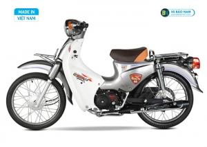 Xe Cub 81 Japan 2018 màu bạc