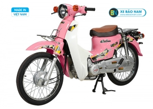 Xe Cub 81 Halim 2019 màu hồng