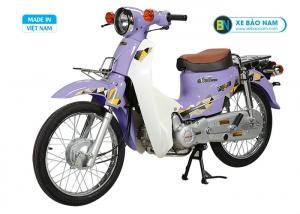 Xe Cub 81 Halim 2019 màu tím