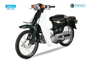Xe Cub 82 màu xanh rêu