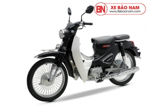 Xe máy Cub Classic 50cc màu đen nhám