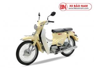 Xe máy Cub Classic 50cc màu vàng kem