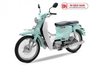 Xe máy Cub Classic 50cc màu xanh ngọc bích