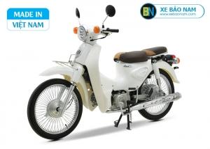 Xe máy Cub 81 New 2019 màu trắng