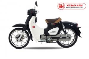 Xe máy Cub Classic 50cc màu đen bóng