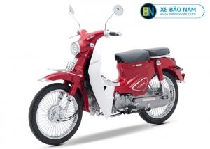 Xe máy Cub Classic 50cc màu đỏ 2019