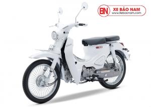 Xe máy Cub Classic 50cc màu trắng