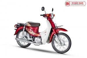 Xe Cub 50cc Dealim Rc màu đỏ mờ