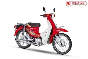 Xe Cub 50cc Dealim Rc màu đỏ tươi