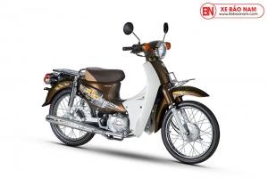 Xe Cub 50cc Dealim Rc màu đồng