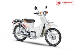 Xe Cub 50cc Dealim Rc màu trắng