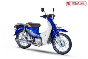 Xe Cub 50cc Dealim Rc màu xanh lam