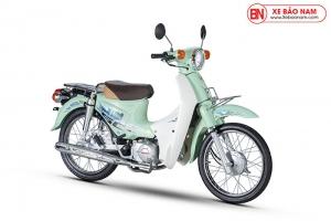 Xe Cub 50cc Dealim Rc màu xanh ngọc