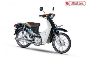 Xe Cub 50cc Dealim Rc màu xanh rêu