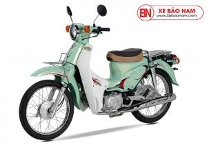 Xe Cub Halim 50cc 2020 màu xanh đục