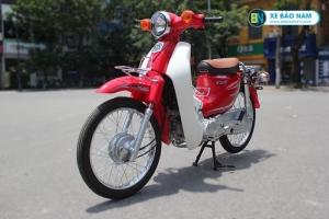 Xe Cub Halim 50cc màu đỏ