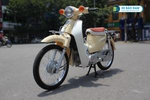 Xe Cub Halim 50cc màu kem