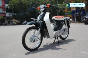 Xe Cub Halim 50cc màu tím than