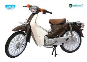 Xe cub 50cc màu nâu ( vành đúc )