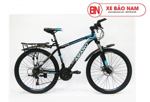 Xe đạp Amano A200 Mới nhất màu đen xanh