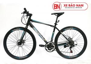 Xe đạp Amano AT100 Mới nhất đen xanh