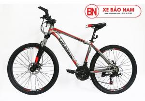 Xe đạp Amano AT180 màu xám đỏ