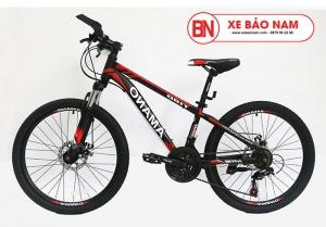 Xe đạp Amano AT180 màu đen đỏ