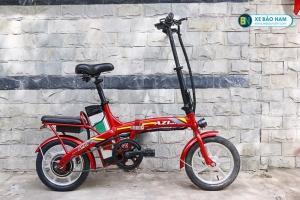 Xe đạp điện Azi Bike Sport màu đỏ