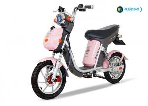 Xe đạp điện Nijia 20A Suzika màu hồng